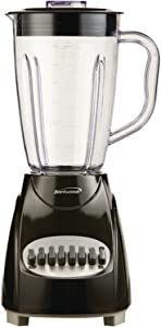 Brentwood JB-220B Blender 12-Speed, Plus Pulse, Black