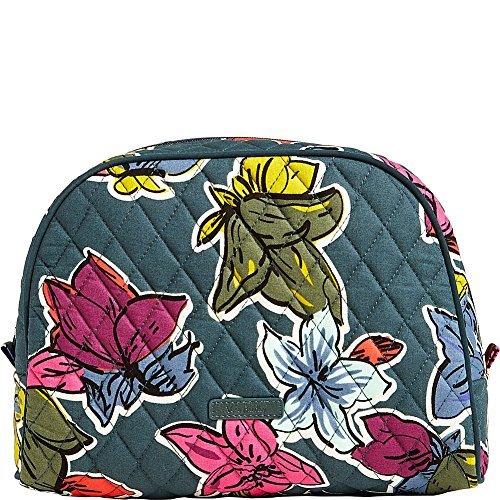Flowers Vera Bradley - Vera Bradley Luggage Women's Large Zip Cosmetic Falling Flowers Luggage