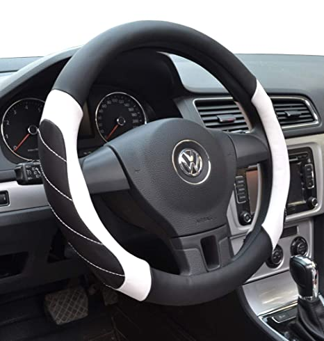Rover 75 Black /& Walnut Steering Wheel Cover Glove 37cm