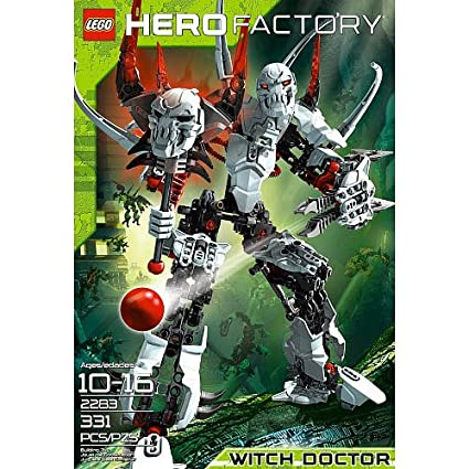 Amazoncom Lego Hero Factory Witch Doctor 2283 Toys Games