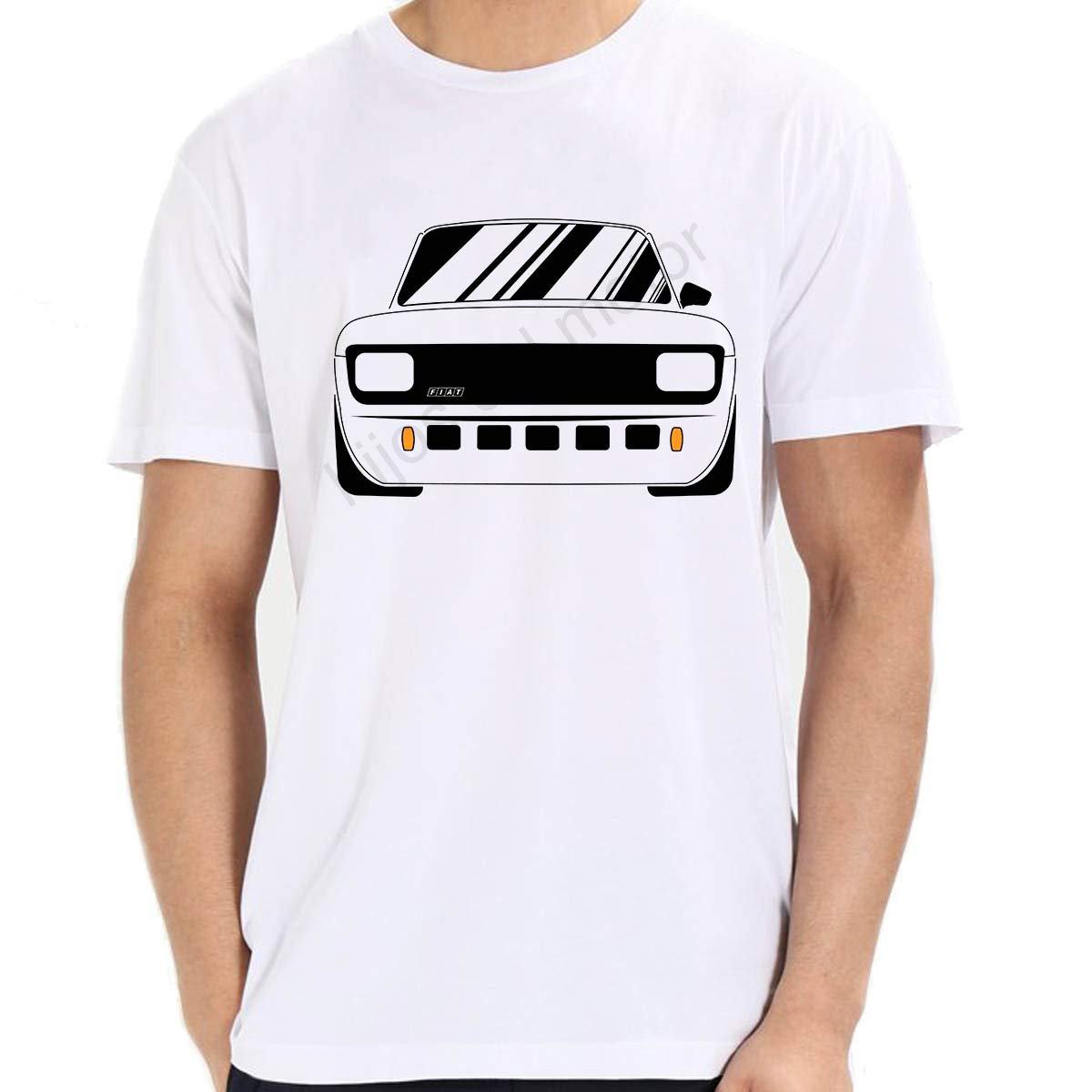 Desconocido Camiseta fiat 127 mk2