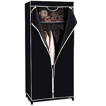 Kleiderschrank Faltschrank Stoffschrank Garderobe Kleiderstange Textilschrank