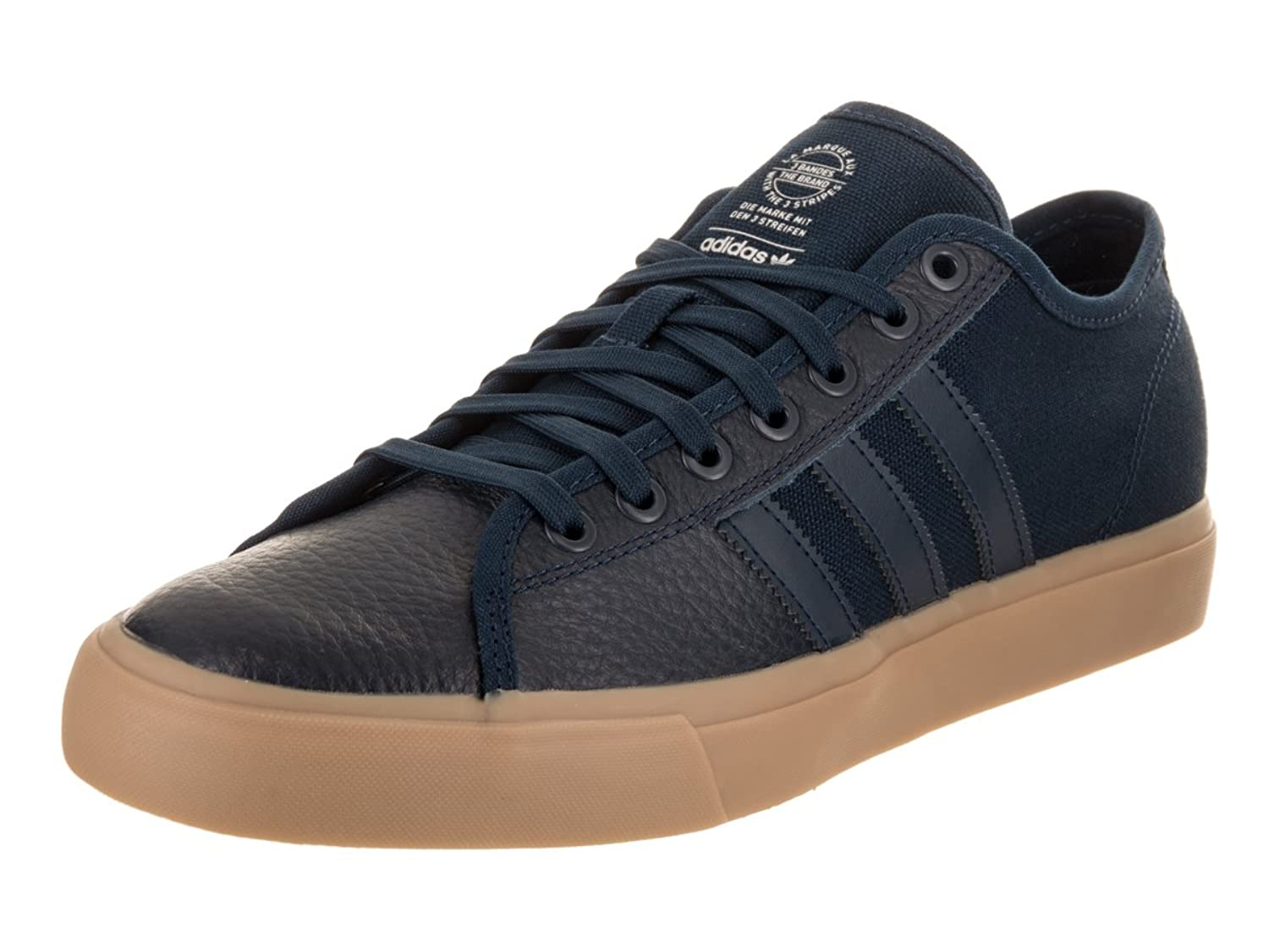 best website e25b0 c6355 adidas Men s Matchcourt RX Conavy Gum4 Silvmt Skate Shoe 8 Men US