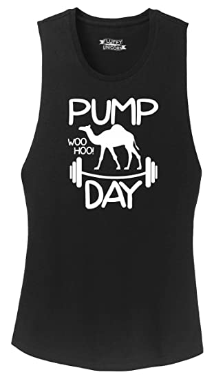 00d2588e Amazon.com: Comical Shirt Ladies Pump Day WooHoo Festival Tank: Clothing