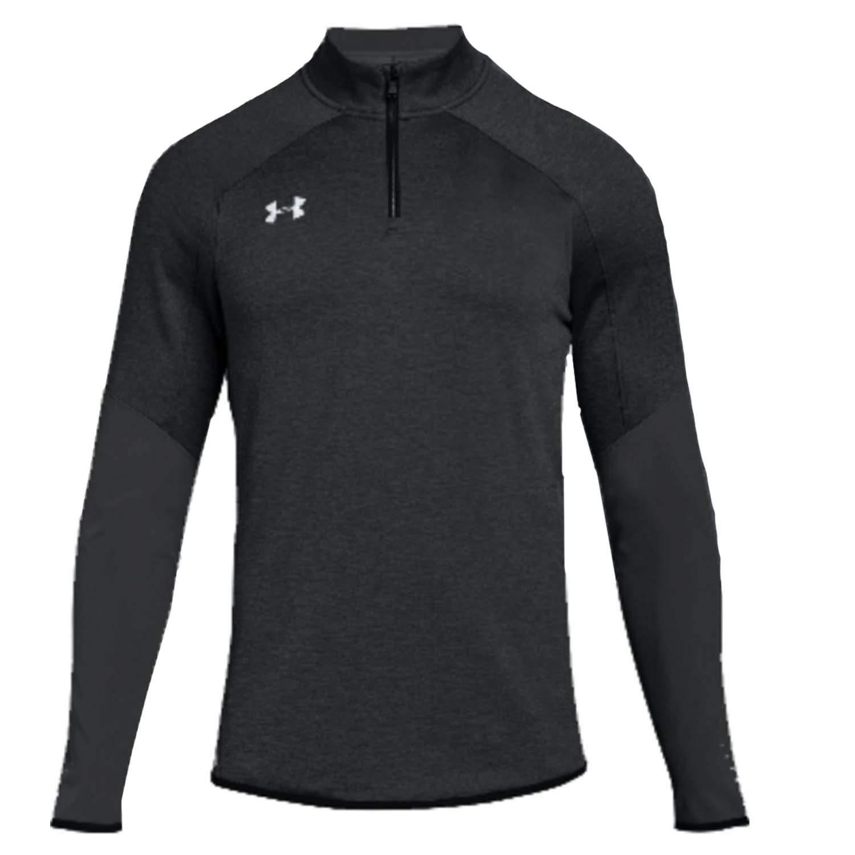 Under Armour Men's UA Qualifier Hybrid 1/4 Zip Long Sleeve (Large, Black)