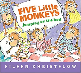 Image result for five little monkeys book