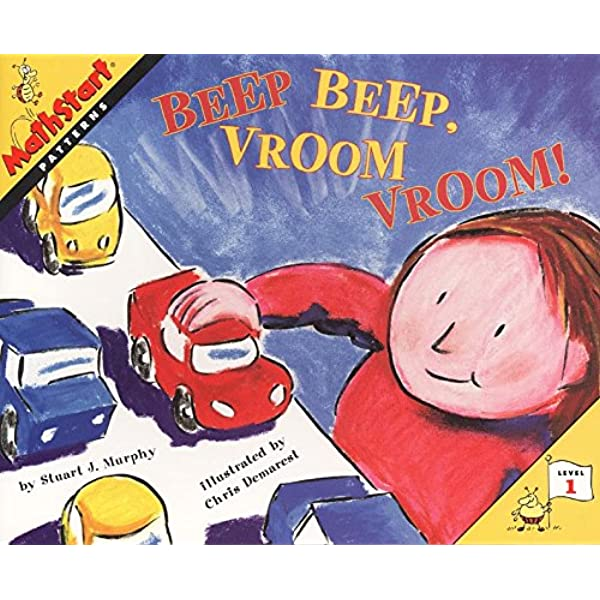 beep beep vroom vroom great source mathstart murphy stuart j 9780064467285 amazon com books beep beep vroom vroom great source