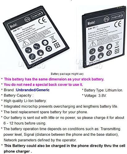 Li-ion 3.8V Battery with Intelligent USB Travel Charger for Motorola Moto G4 Play XT1607 U.S 3200mAh Rechargeable A Moto G4 Play Battery Cellular Phone