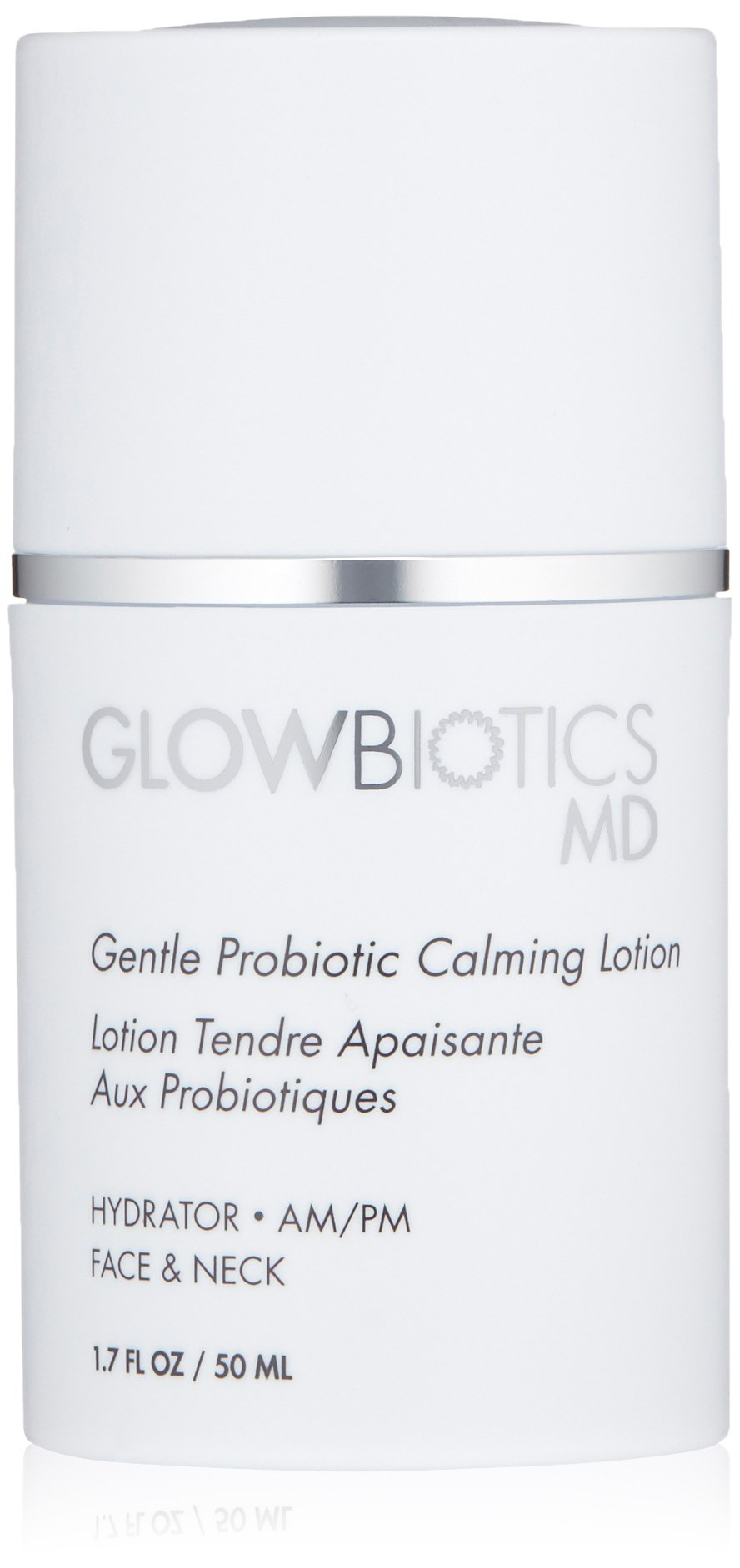 Glowbioitics MD Gentle Probiotic Antioxidant Face Calming Lotion to Nourish and Hydrate Sensitive Skin