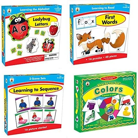 Becker's School Supplies Hands-on Fun! Game Set (Set of 4) [並行輸入品]