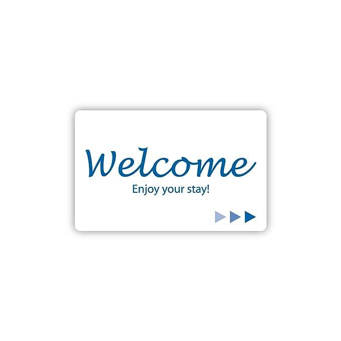 Hotel & Motel Popular Welcome clave de banda magnética ...