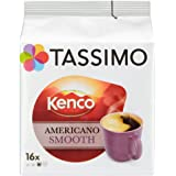 TASSIMO Americano Smooth (Pack of 5, Total of 80 Capsules)