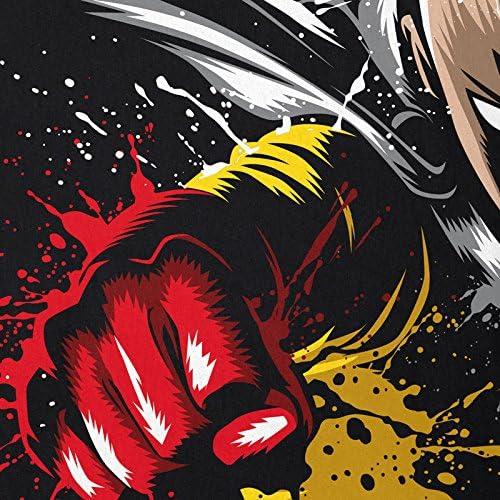 style3 Saitama Punch Camiseta de Tirantes para Hombre Tank Top One Anime Manga