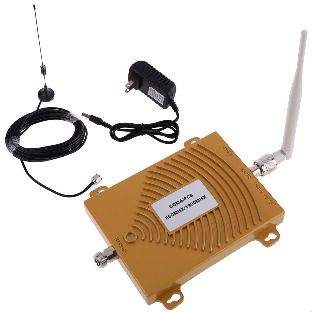 CDMA PCS 850 1900MHz Dual Band Cell Phone Signal Booster Amplifier Repeater US by LS