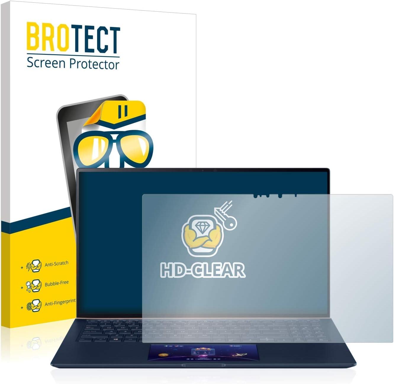 Film Protection Ultra Clair brotect 1-Pi/èces Protection Ecran Compatible avec ASUS ZenBook 15 UX534FT