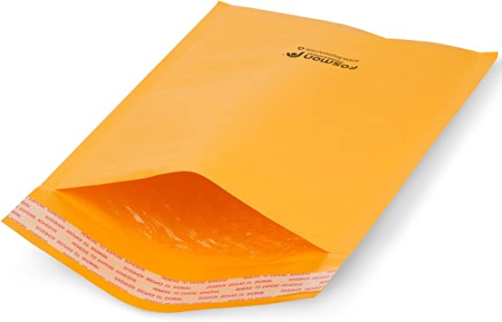 """50 #0 6.5x10 Eco Kraft Bubble Padded Envelopes Mailers Lite Shipping 6.5/""""x10/"""""""