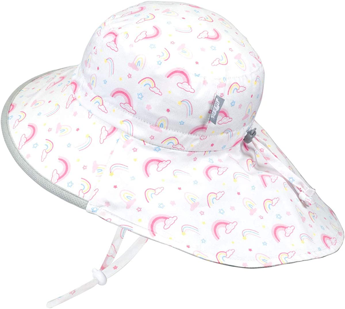50 UPF Adjustable Toddler Sun Hat for Baby and Kids Jan /& Jul GRO-with-Me Cotton Adventure Hat