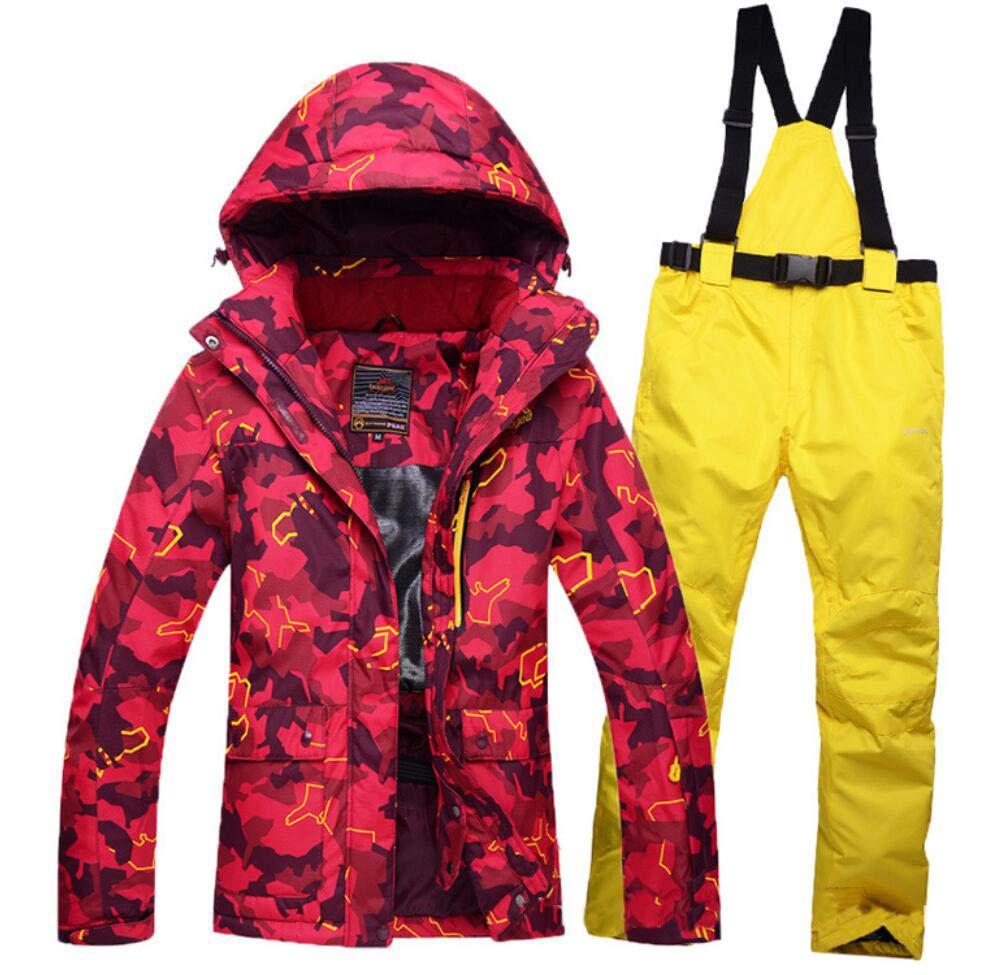 Z&X Damen Skijacke - Snowproof, Warme Damenjacke, Fleecegefütterter Skimantel, verstellbare Manschette - Ideale Skikleidung B07MSH34DX Bekleidung Elegante und robuste Verpackung