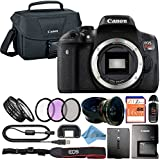 Canon EOS Rebel T6i 24.2MP Digital SLR Camera Retail Packaging Accessory Bundle (Body Only)