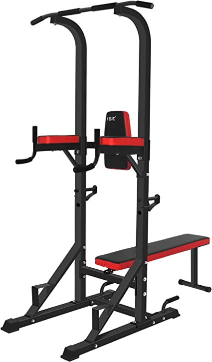 ISE SY-4006 Multi-Functional Roman Chair, Pull-Up Bar, Dip Station and Weights Bench: Amazon.co.uk: Sports & Outdoors