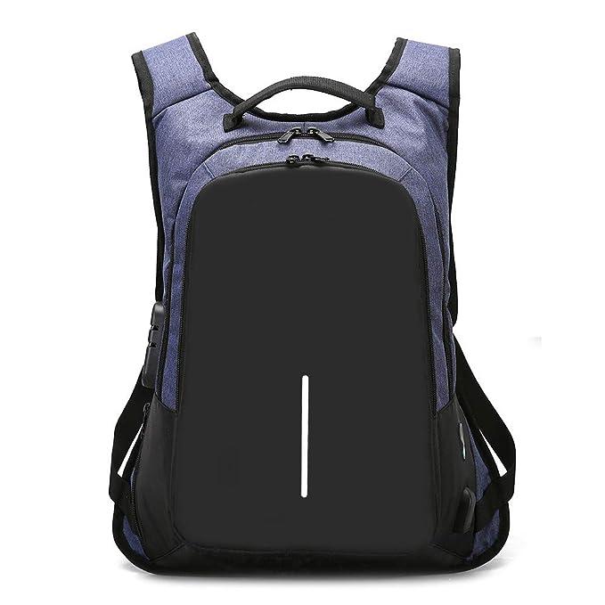 JiaMeng Mochila Portátil Lona Mochilas Casual Mujer Hombre Bolsa Exterior de Deporte Impermeable Bolsa de Estudiante Laptop Backpak: Amazon.es: Ropa y ...