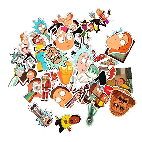 Drama Rick and Morty Stickers Decal For Snowboard Laptop Lug