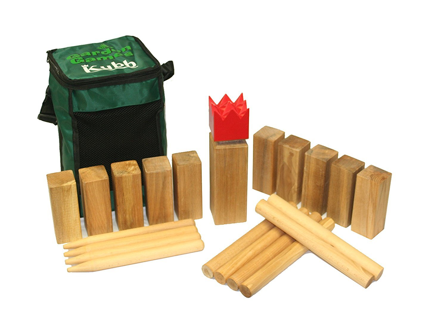 garden games 531 kubb premium qualit t bucheholz spiel in einer tasche g nstig. Black Bedroom Furniture Sets. Home Design Ideas