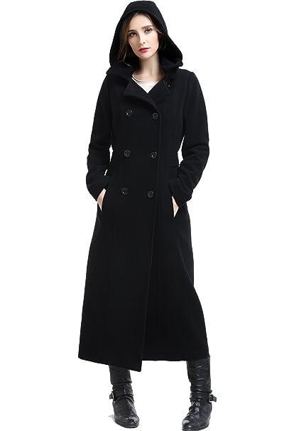 Amazon.com: BGSD - Abrigo largo con capucha para mujer ...