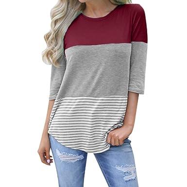 349cc071e JUTOO t Shirt Femme Chemise de Poche Automne Hiver Tee Femmes ...