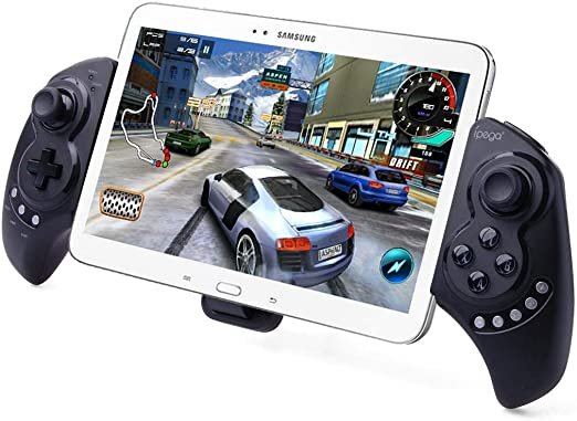Samsung Galaxy Note Android Tablet Pcs Ipega PG-9023 Wireless Bluetooth Game Controller Gamepad for iPhone iPod iPad iOS System