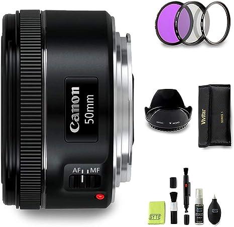 GYTE BUNDLE | Objetivo Canon - EF 50 mm f/1.8 STM: Amazon.es ...