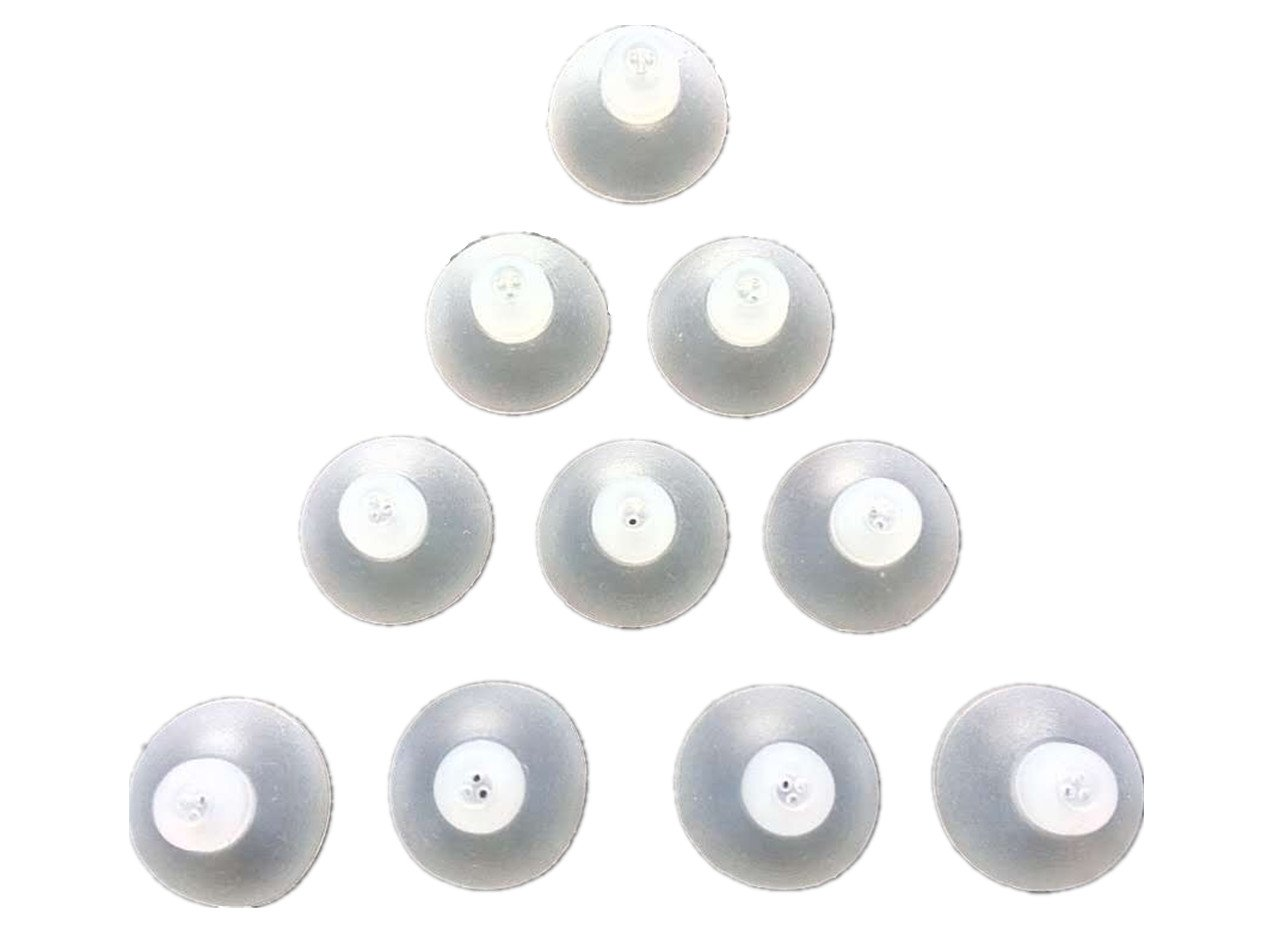 Jungle Care Closed Dome 12mm 10-Pack Comfortable PSAP (Personal Sound Amplifiers Product) Kit Ear Tips Invisible, Perfect for Open Air (Open fit), Except for RIC