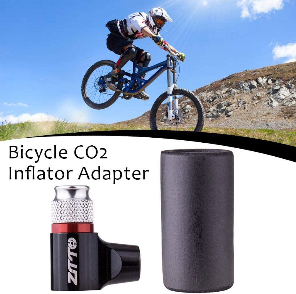 Inflador de neumático de bicicleta de CO2, adaptador de bomba de ...