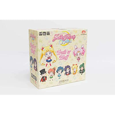 Japanime Games Sailor Moon Crystal: Truth Or Bluff Board Game, Multicolor: Toys & Games