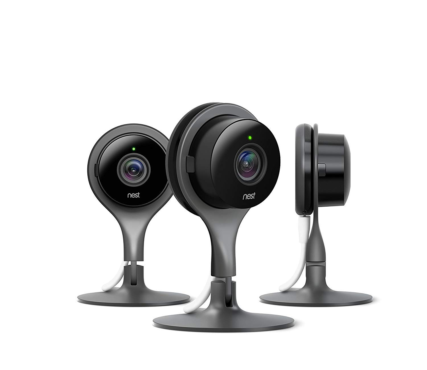 Nest Security Camera, Keep an Eye On What Matters to You, from Anywhere, for Indoor Use 3-Pack