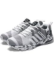buy popular aa60c 96b06 Zapatillas Deporte Hombre Zapatos para Correr Athletic Cordones Zapatillas  de Deporte Respirable para Correr Deportes Zapatos