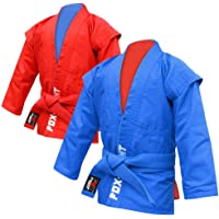 FOX-FIGHT–Sambo Chaqueta (Junior)/Azul O. Rojo (Ambos Lados)