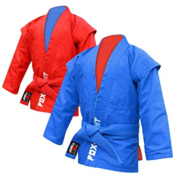 FOX-FIGHT - Sambo Chaqueta (Junior)/Azul O. Rojo (Ambos ...