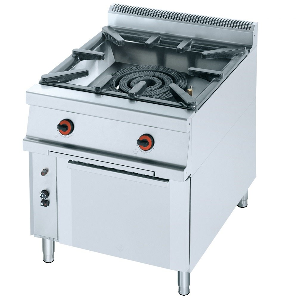 Macfrin 5051 Cocina para Ollas y Paellas Con 1 Quemador y Horno a ...