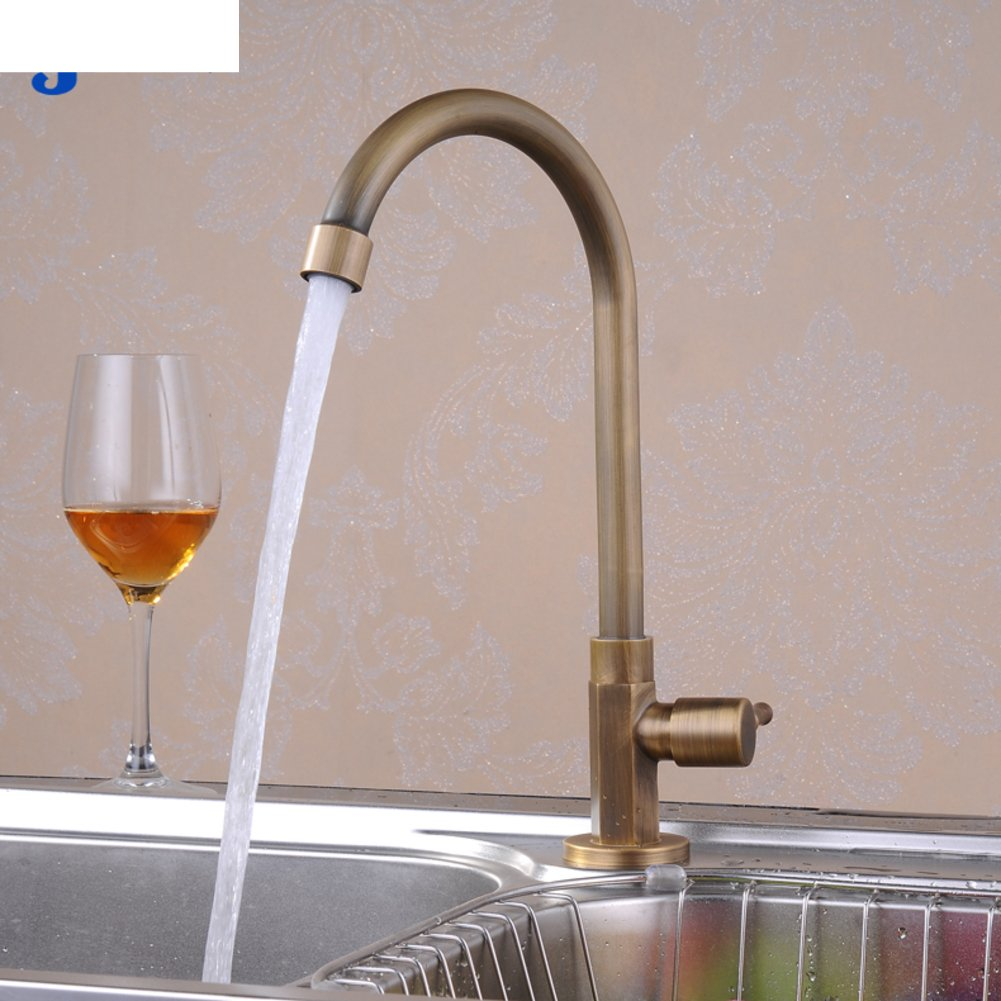 HCP Rustic Kitchen Faucet Single cold water tap redating water