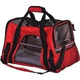 WUBOX Tiertransporttasche - Tragetasche für Hund und Katze - in Grau, Blau, Rot