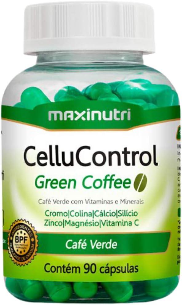 Cellucontrol Green Coffee - 90 Cáps, Maxinutri