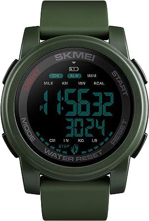 Reloj - SKMEI - Para - LemaiSKMEI1469GREEN BLACK: Amazon.es: Relojes