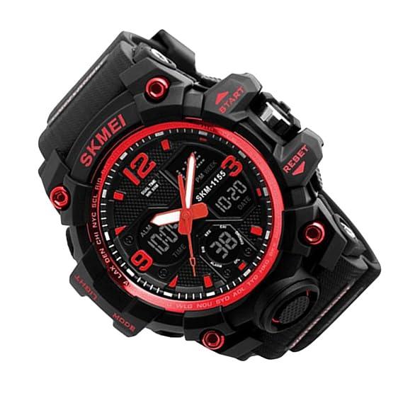 Rosepoem Relojes deportivos Relojes de los deportes al aire libre reloj multifuncional Reloj electrónico digital reloj