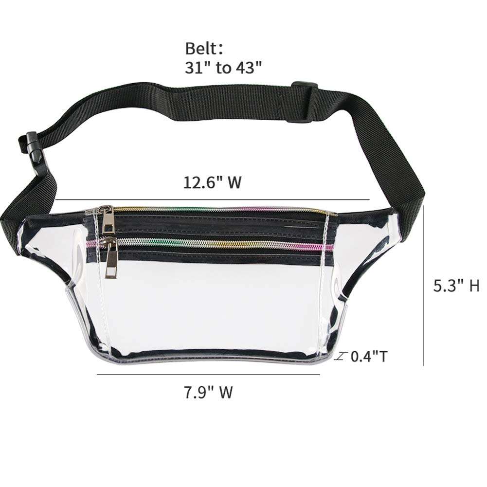 Mums memory Holographic Fanny Pack for Women Metallic Sport Waist Pack for Men for Running Camping Partying Hiking Traveling Jogging
