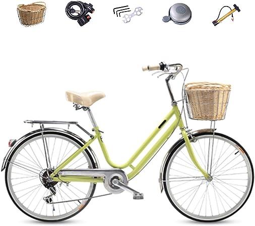 ZXLLO Las Damas Hacen Bicicleta En La Montaña Shimano De 6 ...
