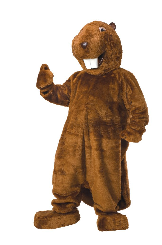 Rubie's Costume Beaver Costume, Brown, Standard