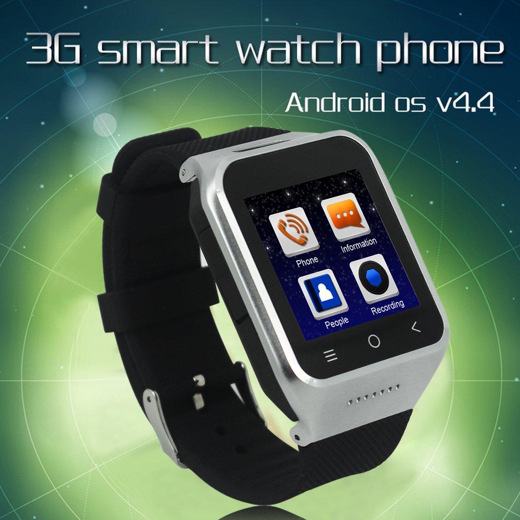 Amazon.com: EXCELVAN ZGPAX S8 Silicone 1.54 Inch Android 4.4 ...