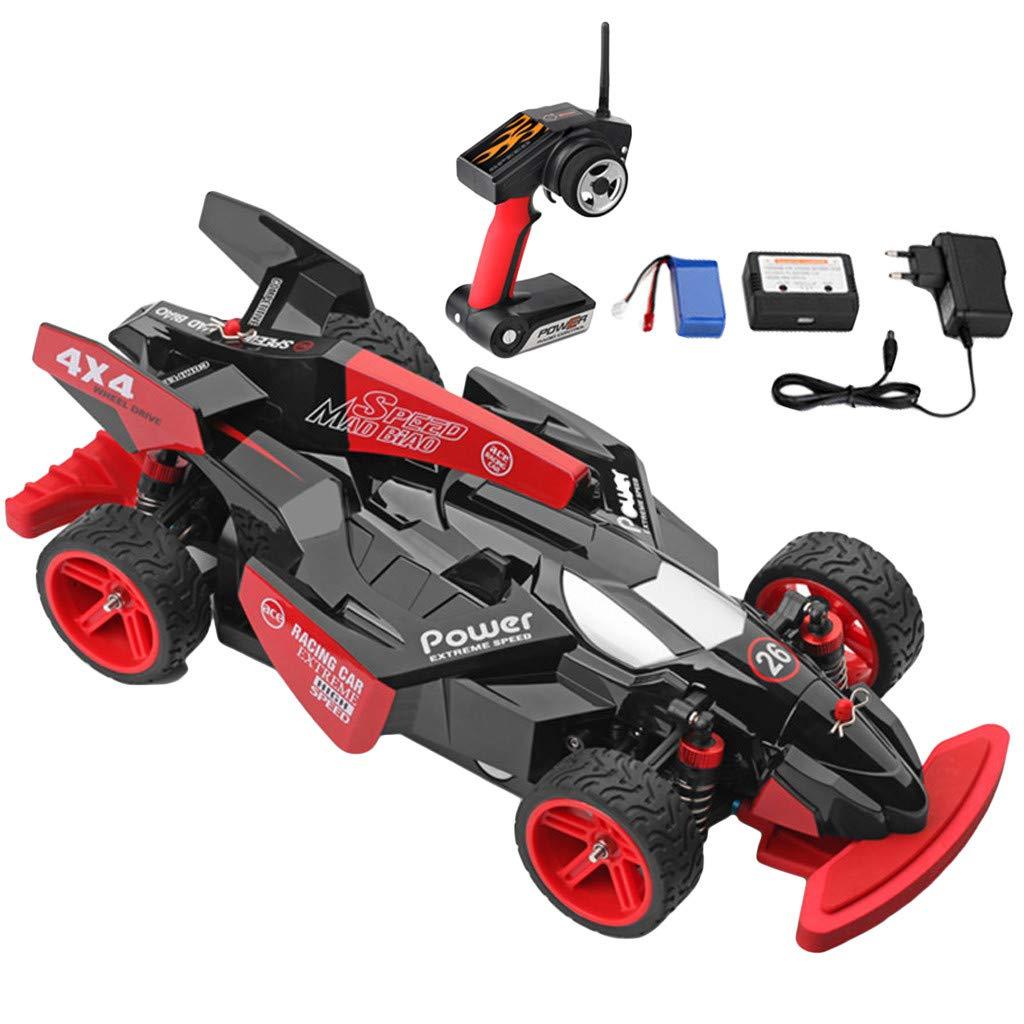 Prevently Wl 184012 390 Brush Motor RC Geländewagen Funkferngesteuerte Auto 1:18 High Speed 45km / h 4D 2.4G Funkfernsteuerung Autorennen