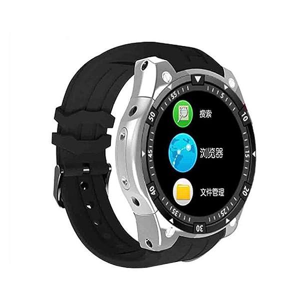 Pulsera Reloj Inteligente Android Reloj teléfono Inteligente Redondo y Redondo IP67 Impermeable presión cardíaca presión Arterial Pantalla Redonda WiFi ...